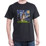 Starry-Aussie Shep #4 Dark T-Shirt
