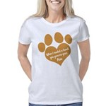 Monet's Spring & Basset Junior Jersey T-shirt (dar