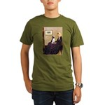 WMom / Beagle (#2) Organic Men's T-Shirt (dark)