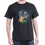 Starry/Belgian Malanois Dark T-Shirt