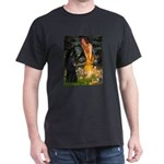 Fairies /Belgian Sheepdog Dark T-Shirt