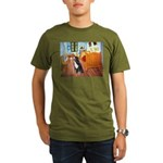 A Room with a Bernese Organic Men's T-Shirt (dark)