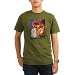 Mandolin Angel & Bolognese Organic Men's T-Shirt (