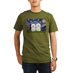 Starry Night / 2 Bolognese Organic Men's T-Shirt (