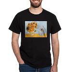 Sunflowers & Bolognese Dark T-Shirt
