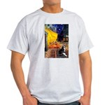 Cafe & Boston Terrie Light T-Shirt