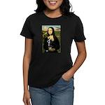 Mona & her Boston Ter Women's Dark T-Shirt