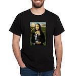 Mona & her Boston Ter Dark T-Shirt