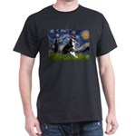 Starry Night Boston Ter Dark T-Shirt