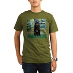 Bridge / Bouvier Organic Men's T-Shirt (dark)