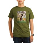 Spring with a Boxer Organic Men's T-Shirt (dark)
