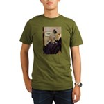 Whistler's / Bullmastiff Organic Men's T-Shirt (da