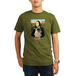 Mona /Bullmastiff Organic Men's T-Shirt (dark)