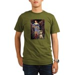 Ophelia / Bull Ter Organic Men's T-Shirt (dark)