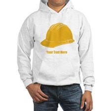 Workers Hat. Your Text. Hoodie