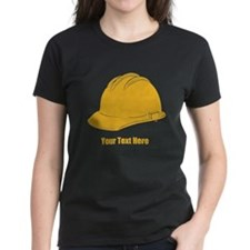 Workers Hat. Your Text. Tee