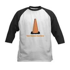 Traffic Cone and Your Text. Tee