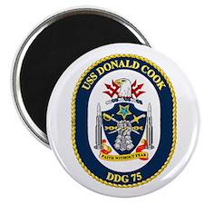 USS Donald Cook DDG 75 Magnet