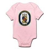 USS Porter DDG 78 Infant Creeper