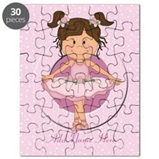 Personalized Ballerina Ballet Puzzle