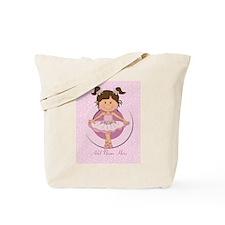 Personalized Ballerina Ballet Tote Bag
