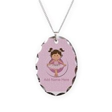 Personalized Ballerina Ballet Necklace