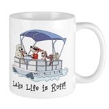 Pontoon Boat Mug