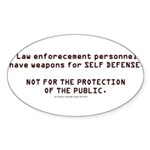Protect Sticker (Oval 10 pk)