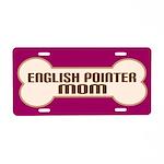 English Pointer Mom License Plate