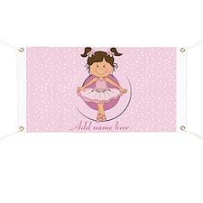 Personalized Ballerina Ballet Banner