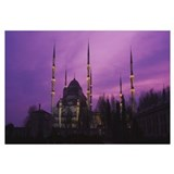 Twilight Blue Mosque Istanbul Turkey