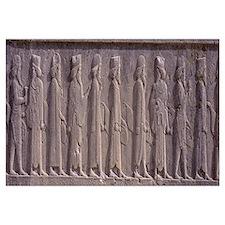 Stone Carving Persepolis Iran