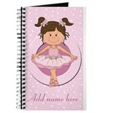 Personalized Ballerina Ballet Journal