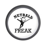 Netball Freak Wall Clock