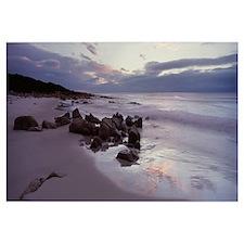 Beach at sunrise Friendly Beaches Freycinet Nation