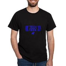 Tech Geek Black T-Shirt