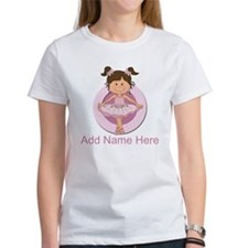 Personalized Ballerina Balle Tee