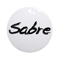 Sabre Ornament (Round)
