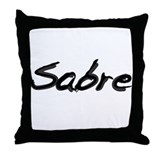 Sabre Throw Pillow
