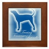 Tennessee Brindle Framed Tile