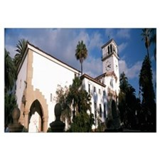 Low angle view of a courthouse Santa Barbara Calif