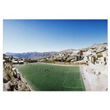 High angle view of a soccer field Potosi Tomas Fri
