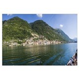 Town at the waterfront Sala Comacina Lake Como Com