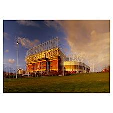 Clouds over a stadium Stadium Of Light Sunderland