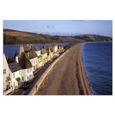 Cottages at the coast Torcross Slapton Sands Slapt