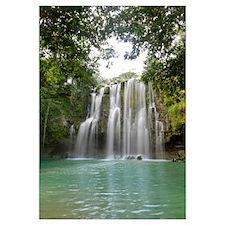 Llanos De Cortez Waterfall, La Libertad, Guanacast