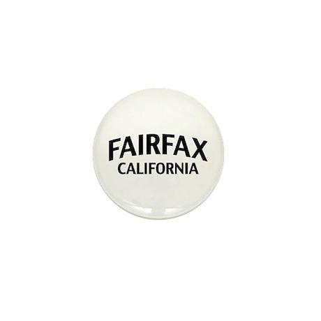 Fairfax California Mini Button
