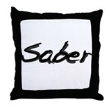 Saber Throw Pillow