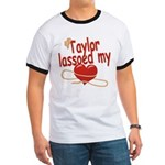 Taylor Lassoed My Heart Ringer T