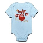 Taylor Lassoed My Heart Infant Bodysuit